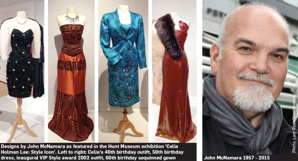 Limerick designer John McNamara 1957 - 2015