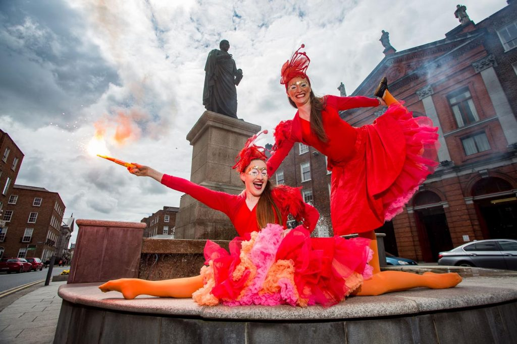 Culture and Chips Launch with Fidget Feet. Picture: Alan Place.